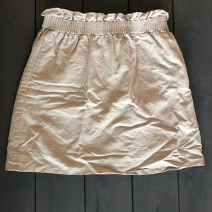 J. Crew Linen Sidewalk Skirt